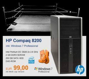 Top-Angebot: HP/Compaq 8200 Elite nur 99 €
