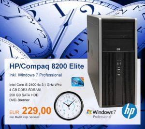 Top-Angebot: HP Compaq 8200 Elite nur 229 €