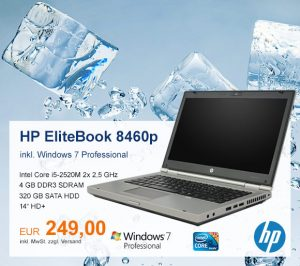 Top-Angebot: HP EliteBook 8460p nur 249 €