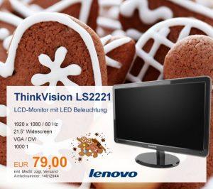 Top-Angebot: Lenovo ThinkVision LS2221 nur 79 €