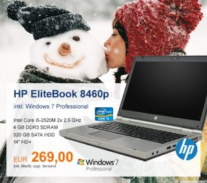Top-Angebot: HP EliteBook 8460p nur 269 €