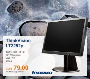 Top-Angebot: Lenovo ThinkVision LT2252p nur 79 €