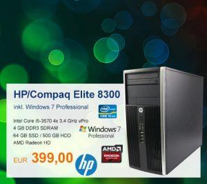 Top-Angebot: HP/Compaq Elite 8300 nur 399 €