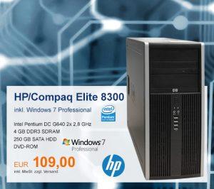 Top-Angebot: HP/Compaq Elite 8300 nur 109 €