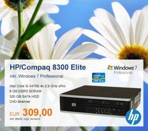 Top-Angebot: HP/Compaq Elite 8300 nur 309 €