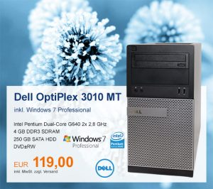 Top-Angebot: Dell OptiPlex 3010 MT nur 119 €