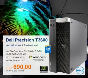 Top-Angebot: Dell Precision T3600 nur 690 €