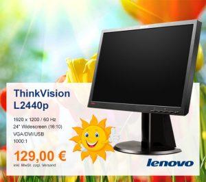 Top-Angebot: Lenovo ThinkVision L2440p nur 129 €