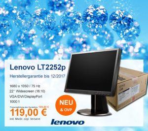 Top-Angebot: Lenovo ThinkVision LT2252p nur 119 €