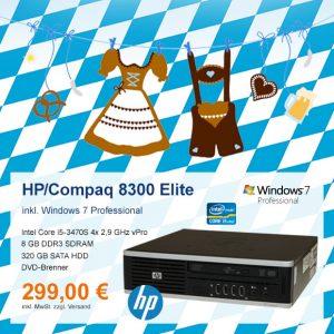 Top-Angebot: HP Compaq 8300 nur 299 €