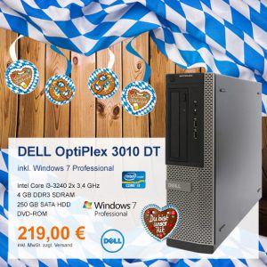 Top-Angebot: DELL OptiPlex 3010 DT nur 219 €