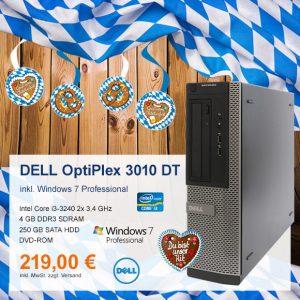 Top-Angebot: DELL OptiPlex 3010 DT nur 219 €