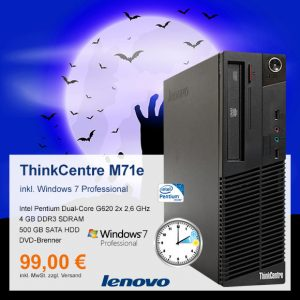Top-Angebot: Lenovo ThinkCentre M71e nur 99 €
