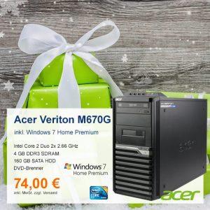 Top-Angebot: Acer Veriton M670G nur 74 €