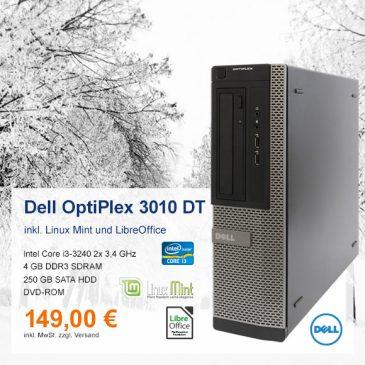Top-Angebot: Dell OptiPlex 3010 DT nur 149 €