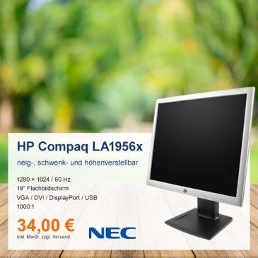 Top-Angebot: HP Compaq LA1956x nur 34 €