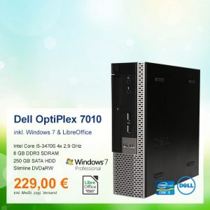 Top-Angebot: Dell OptiPlex 7010 USFF nur 229 €