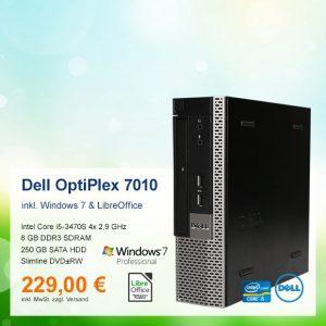 Top-Angebot: Dell OptiPlex 7010 USFF nur 229 €