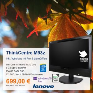 Top-Angebot: Lenovo ThinkCentre M93z nur 699 €