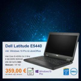 Top-Angebot: Dell Latitude E5440 nur 359 €