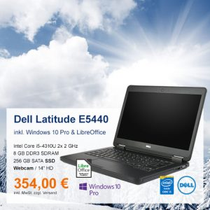 Top-Angebot: Dell Latitude E5440 nur 354 €