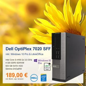 Top-Angebot: Dell OptiPlex 7020 nur 189 €