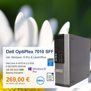 Top-Angebot: Dell OptiPlex 7010 SFF nur 269 €