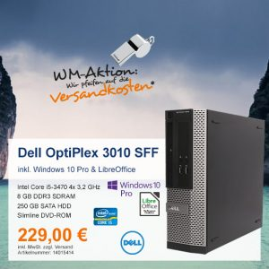 Top-Angebot: Dell OptiPlex 3010 nur 229 €