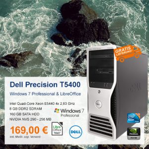 Top-Angebot: Dell Precision T5400 nur 169 €