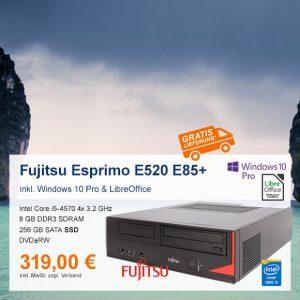 Top-Angebot: Fujitsu Esprimo E520 nur 219 €