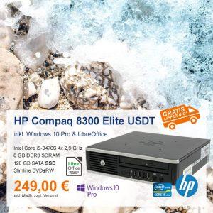 Top-Angebot: HP Compaq 8300 Elite USDT nur 249 €