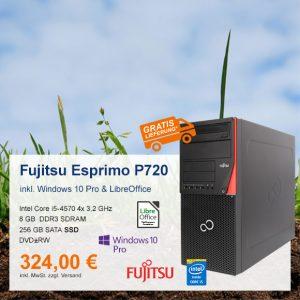 Top-Angebot: Fujitsu Esprimo P720 nur 324 €