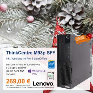 Top-Angebot: Lenovo ThinkCentre M93p nur 269 €