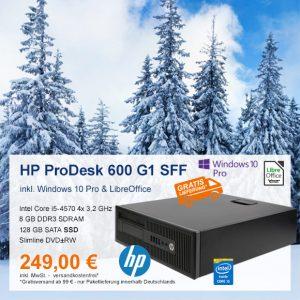 Top-Angebot: HP ProDesk 600 G1 SFF nur 249 €