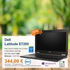 Top-Angebot: Dell Latitude E7250 nur 344 €