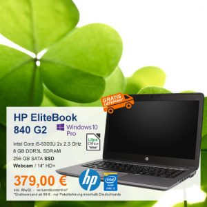 Top-Angebot: HP EliteBook 840 G2 nur 379 €