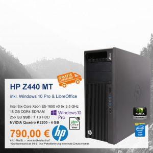 Top-Angebot: HP Z440 MT nur 790 €