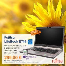 Top-Angebot: Fujitsu LifeBook E744 nur 299 €