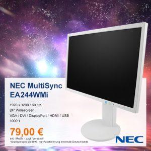 Top-Angebot: NEC MultiSync EA244WMi nur 79 €