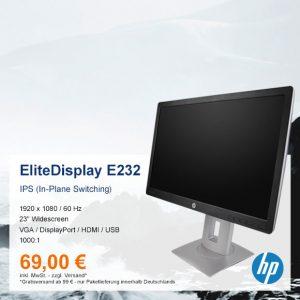 Top-Angebot: HP EliteDisplay E232 nur 69 €