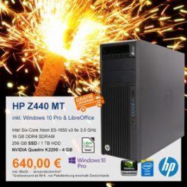 Top-Angebot: HP Z440 Workstation nur 640 €