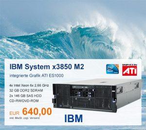 Top-Angebot: IBM System x3850 M2 nur 640 €