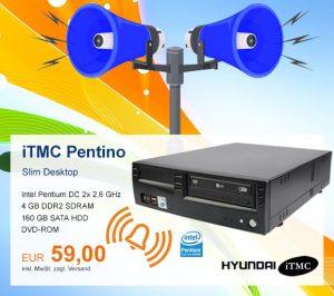 Top-Angebot: Hyundai iTMC Pentino nur 59 €