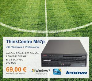 Top-Angebot: Lenovo ThinkCentre M57p nur 69 €