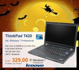 Top-Angebot: Lenovo ThinkPad T420 nur 329 €