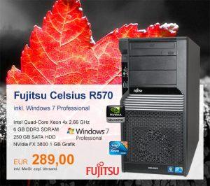 Top-Angebot: Fujitsu Celsius R570 nur 289 €