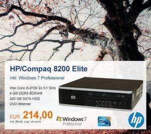 Top-Angebot: HP/Compaq 8200 nur 214 €