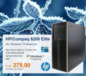 Top-Angebot: HP/Compaq 8200 nur 279 €