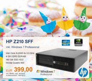 Top-Angebot: HP Z210 nur 399 €