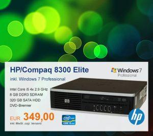 Top-Angebot: HP/Compaq Elite 8300 nur 349 €